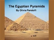 the egyptian pyramids olivia pandolfi