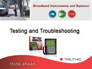 DOCSIS 3.0 Testing & Troubleshooting