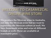 Casamezcal- The Online Wine Store