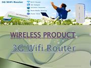 Get 3G Wifi Router with Best Quality and Services
