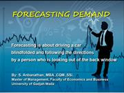 Presentasi Forecasting Demand - Chap 04