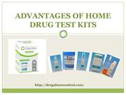 Advantages of Home Drug Test Kits