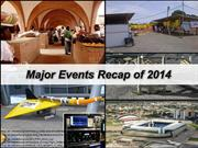 Major Events Recap of 2014