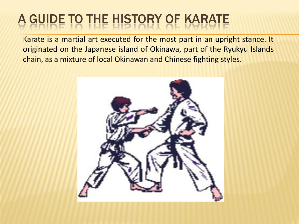 A guide to the history of karate authorstream toneelgroepblik