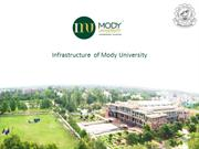 Mody University - Best University in India