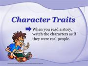 1 character traits
