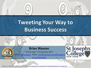 Tweeting Your Way to Business Success