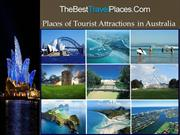 Places of Tourist Attractions in Australia