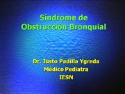 20.Sindrome Obstructivo Bronquial
