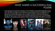 What makes a successful film poster