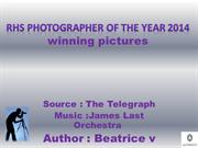 RHS Photographer of the Year 2014