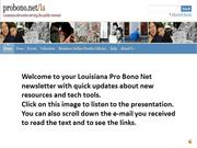 2014 DECEMBER LOUISIANA PRO BONO NET NEWS