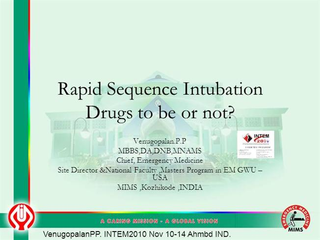 RSI Drugs to be or Not |authorSTREAM