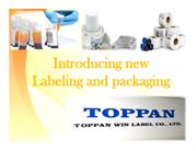 Introducing new Labeling and packaging