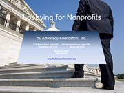 Lobbying for Nonprofits