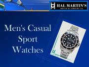 Men's Casual Sports Watches
