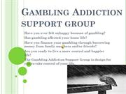 Gambling Support Group 1