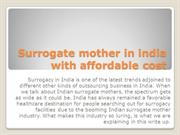 Surrogate mother in india with affordable cost