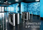 PERCo Turnstiles And Access Control Products Booklet