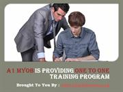 A1 MYOB is Providing One to One Training Program