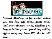Get Exiting Offers from Scratchmonkeys and Enjoy Your Holidays!