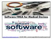 Software FMEA for Medical Devices