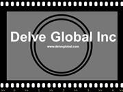 web design and development - Advance production development - delveglo