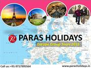 Budget Europe Group Tours 2015