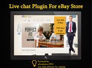 Using Live chat plugin for eBay Store