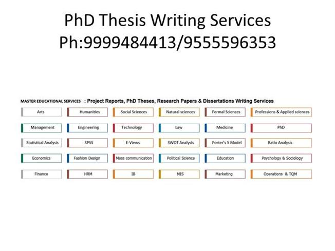 Write Phd Dissertation Economics