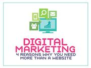 4 Reasons Why Your Business Need More than a Website