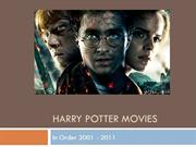 Best Magic Tricks, Harry Potter Movie Series
