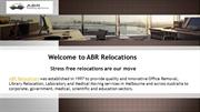 Stress-Free Office Relocation Services