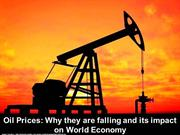 Falling Crude Oil Prices and it's Impact on World Economy