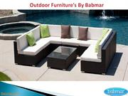Outdoor Furniture's By Babmar