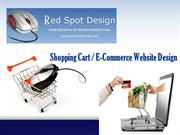 Shopping Cart  E-Commerce Website Design