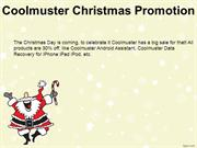 coolmuster christmas promotion