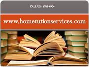 A perfect solution of Private home tutoring agency in  your door step