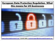 European data protection regulation