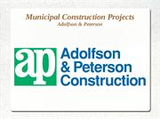 Municipal Construction Projects in USA – A&P Construction