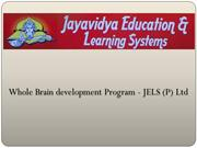Whole Brain development Program