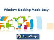Window Docking Made Easy With AquaSnap