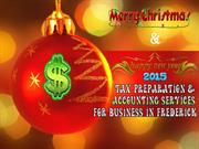 Tax Preparation & Accounting Services for Business in Frederick, MD