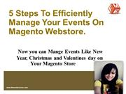 Magento Events Module by FMEExtensions