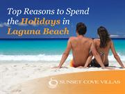 Top Reasons to Spend the Holidays in Laguna Beach
