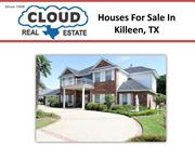 Houses For Sale In Killeen, TX