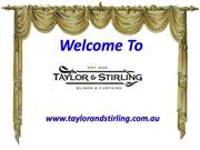 Taylor & Stirling-A High Quality Manufacturer of Curtains & Blinds
