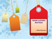 Online Clothing Boutique