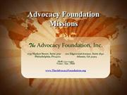 Advocacy Foundation Missions