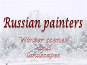 Russian painters - Winter scenes